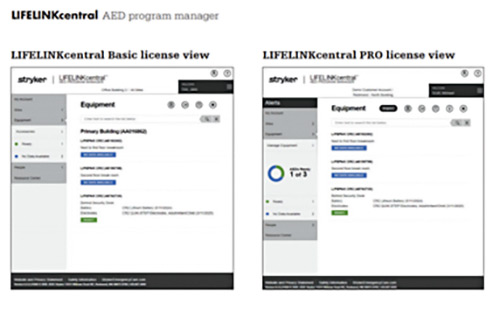 LIFELINKcentral AED program manager